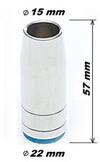 Сопло MB-25AK d=15mm, L=57mm, коническое