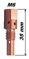 Держатель наконечника MB-25AK (М6*35mm)
