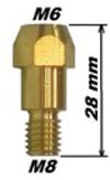 Держатель наконечника MB-36KD (М6*28mm)