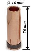 Сопло MB-501D/401D d=16mm, L=76mm, коническое